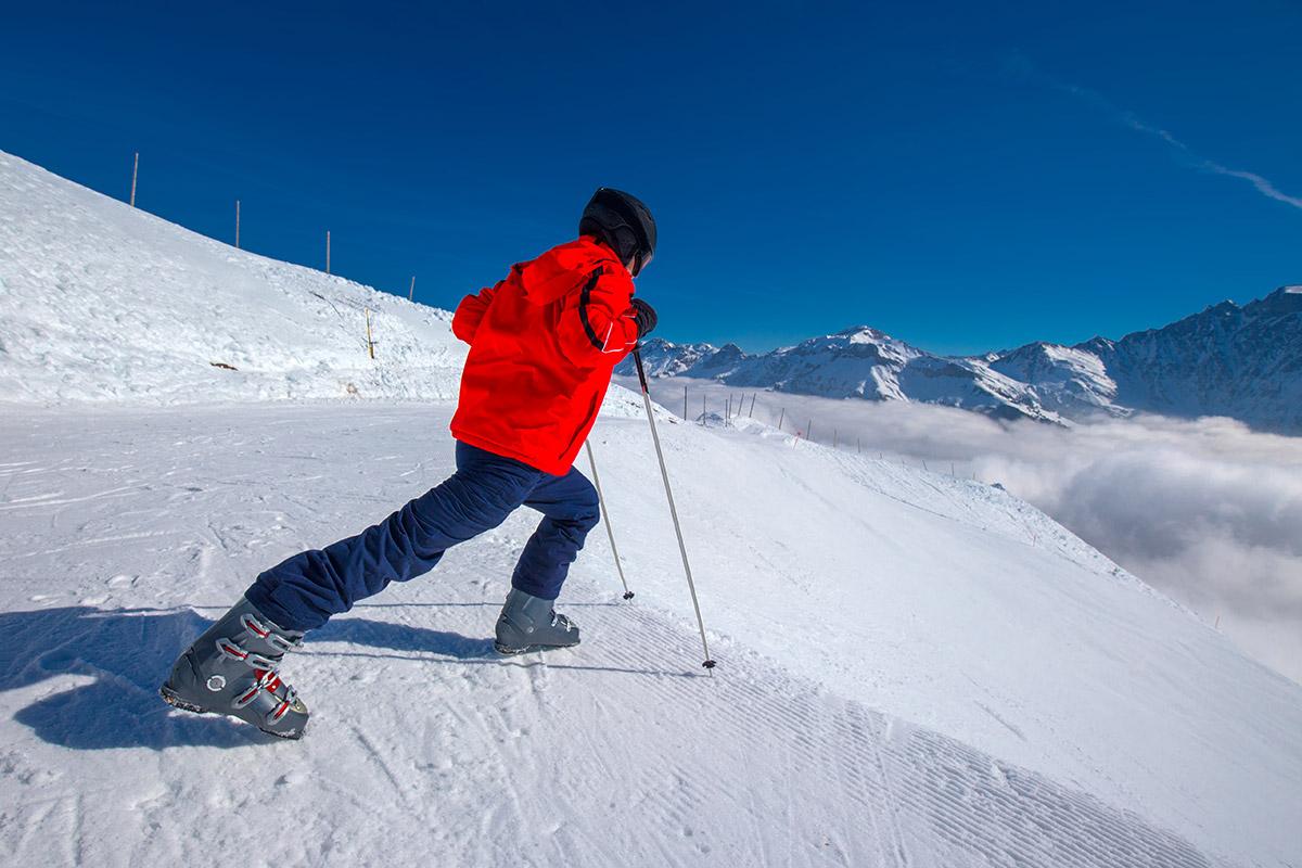 Per fer un bon escalfament cal dedicar-hi uns minuts abans d'esquiar