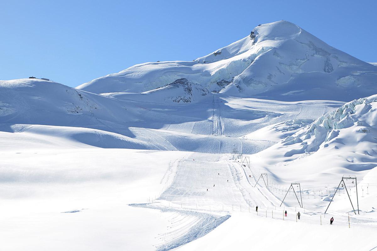 Glaciar Allalinhorn.