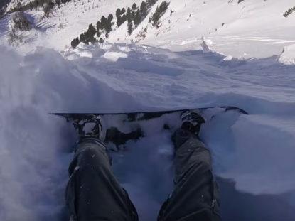 allau als alps suïssos