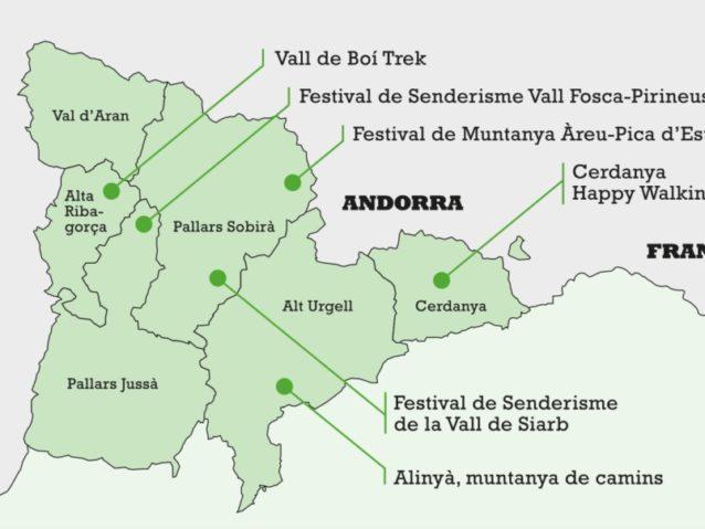 mapa senderisme