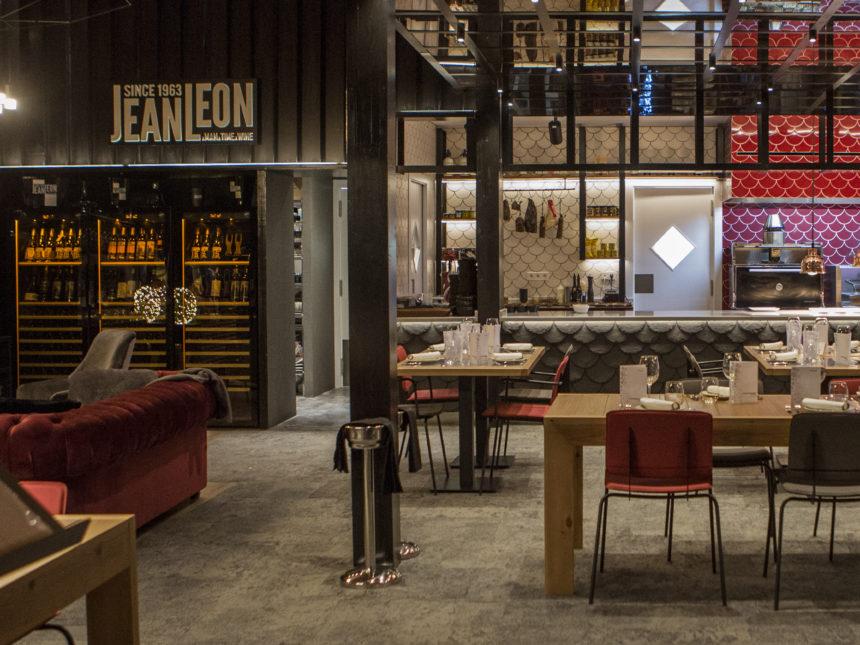 Imatge del interior del nou espai Jean Leon