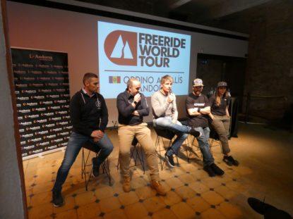 Ordino Arcalís acull la tercera prova del Freeride World Tour