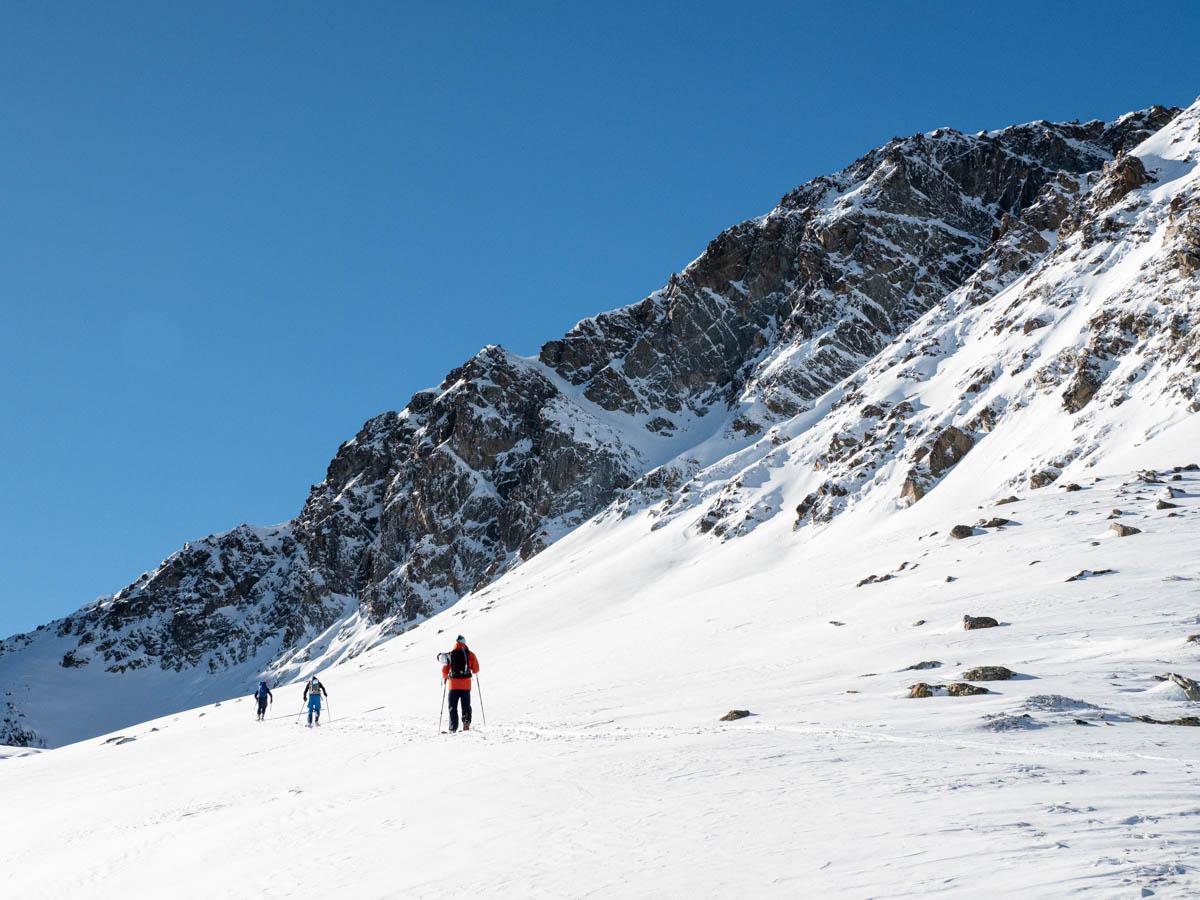 esquí de muntanya al Pic dels Pedrons